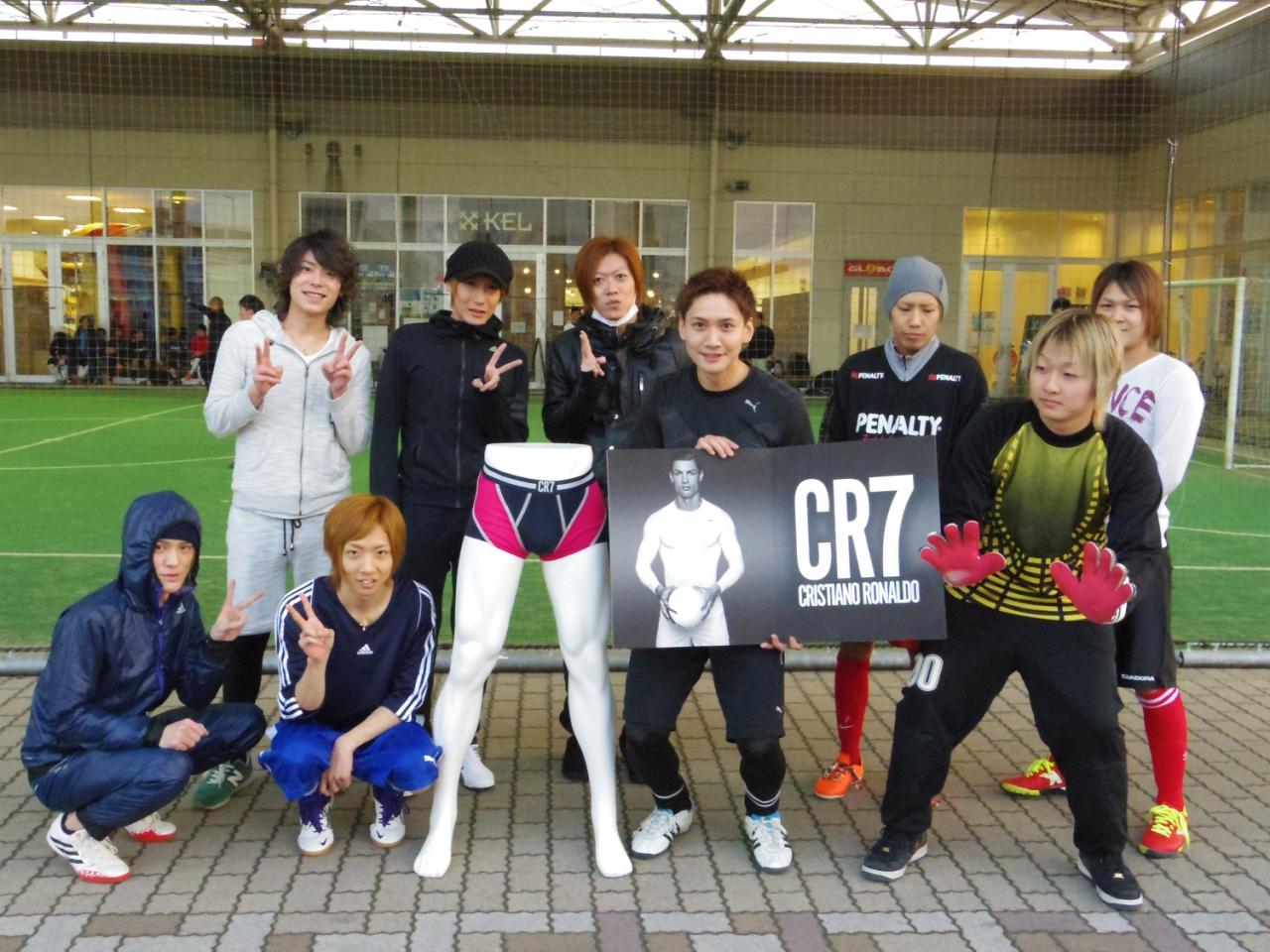 CR7チームナイト